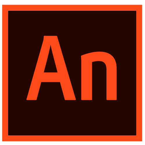 O logo do Adobe Animate