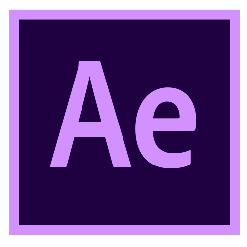 O logo do Adobe After Effects