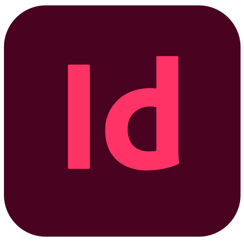 O logo do Indesign