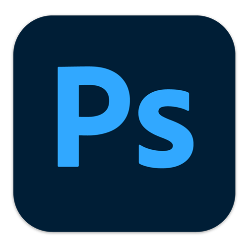 O logo do Photoshop