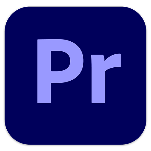 O logo do Adobe Premiere